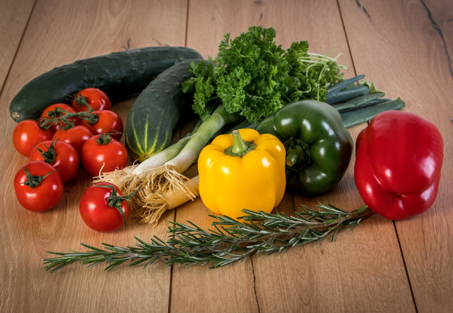 Nutrición verdura Fisiona