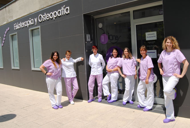 Equipo Fisioterapia Fisiona Vitoria-Gasteiz